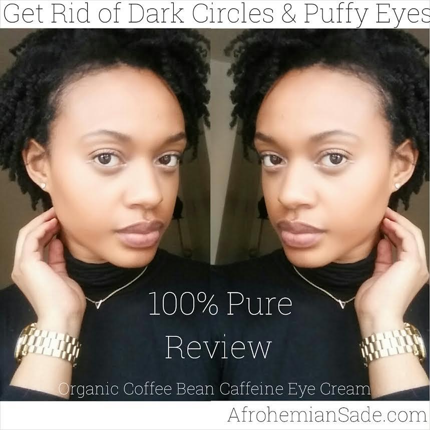 ... Organic Coffee Bean Caffeine Eye Cream. 100 % Pure eye cream