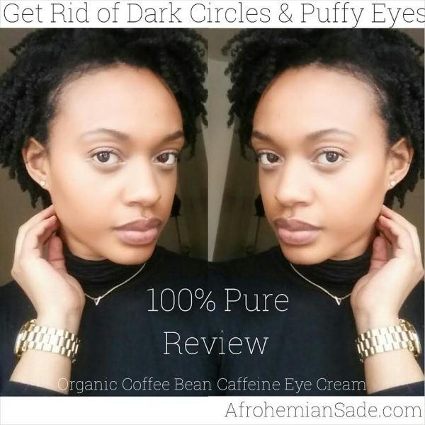 100 % Pure eye cream